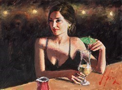 Cocktail in Maui by Fabian Perez -  sized 16x12 inches. Available from Whitewall Galleries